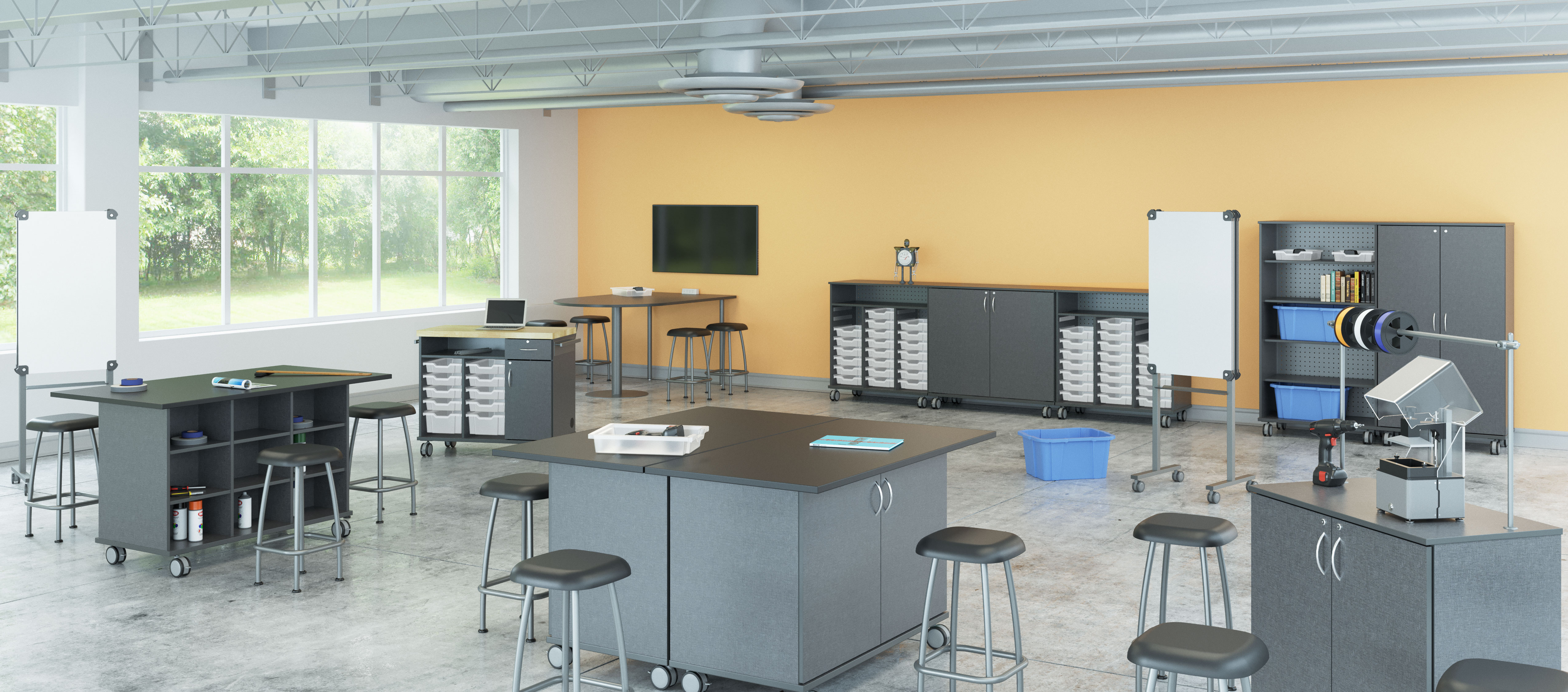 Rendering of Makerspace|STEM|CTE collection