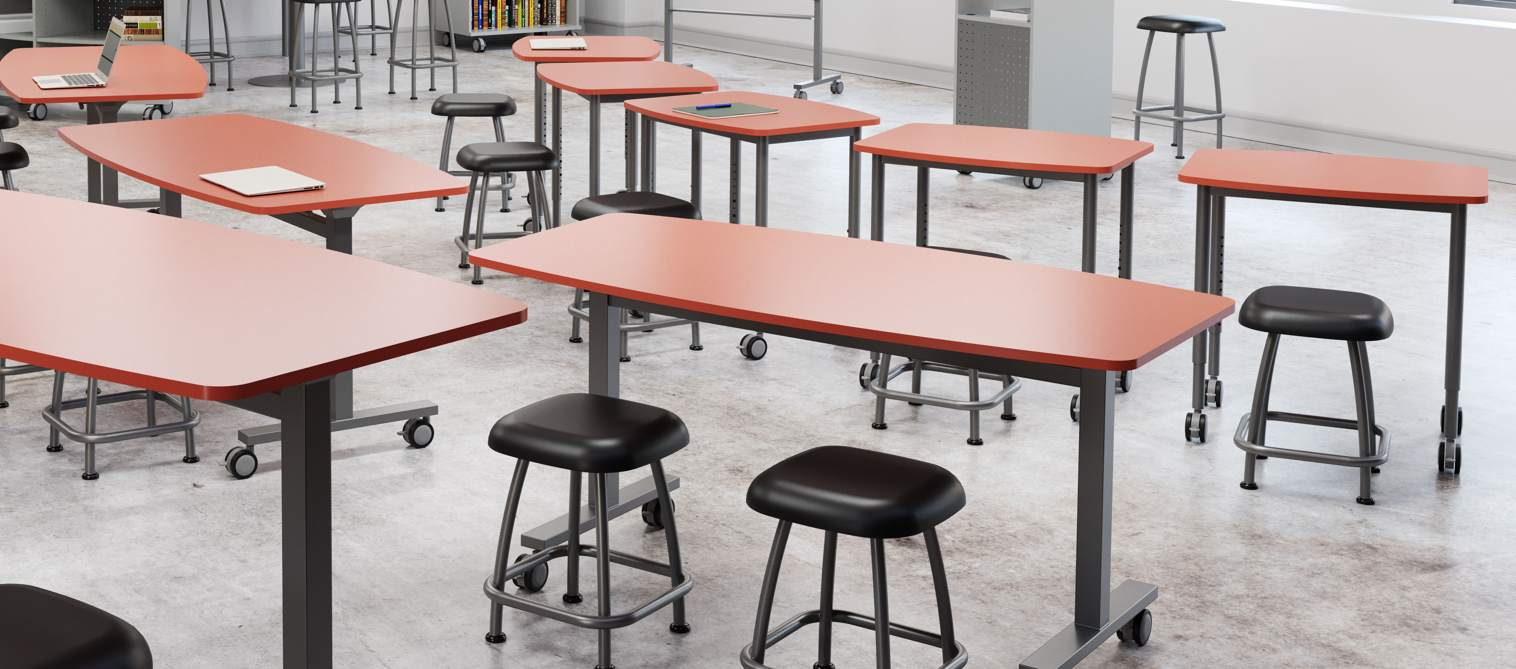 Rendering of Desks and Tables