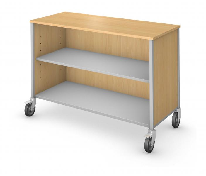 Low Storage - Single Sided - No Doors Product Rendering