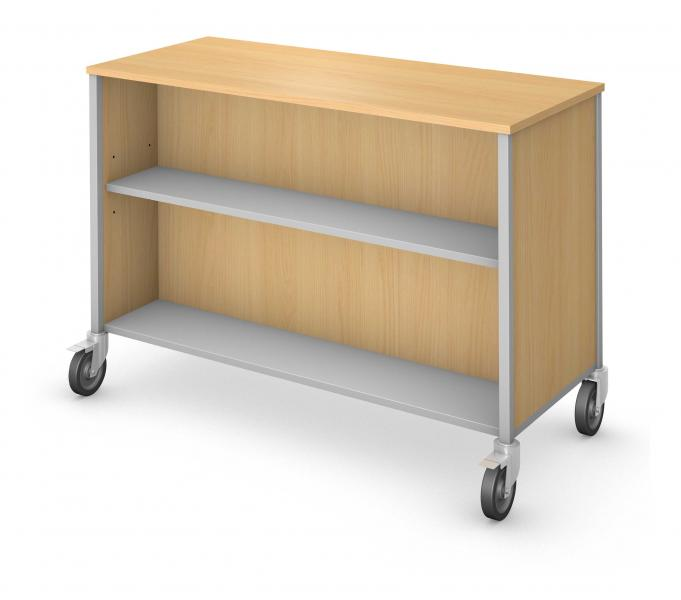 Low Storage - Double Sided - No Doors Product Rendering
