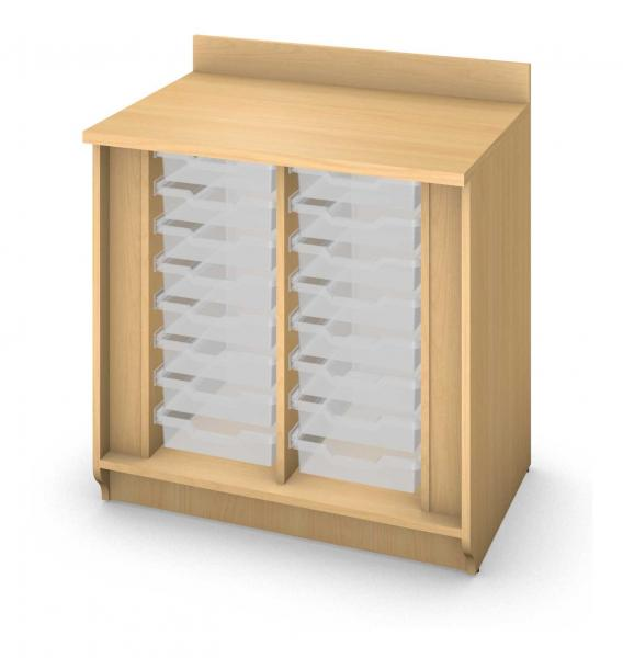 Base Tray Cabinet - No Doors Product Rendering