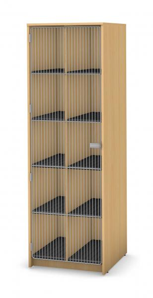 Harmony Instrument Storage, 10 Compartment Product Rendering