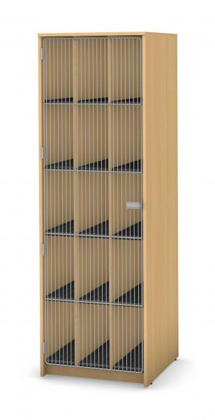 Harmony Instrument Storage, 15 Compartment Product Rendering