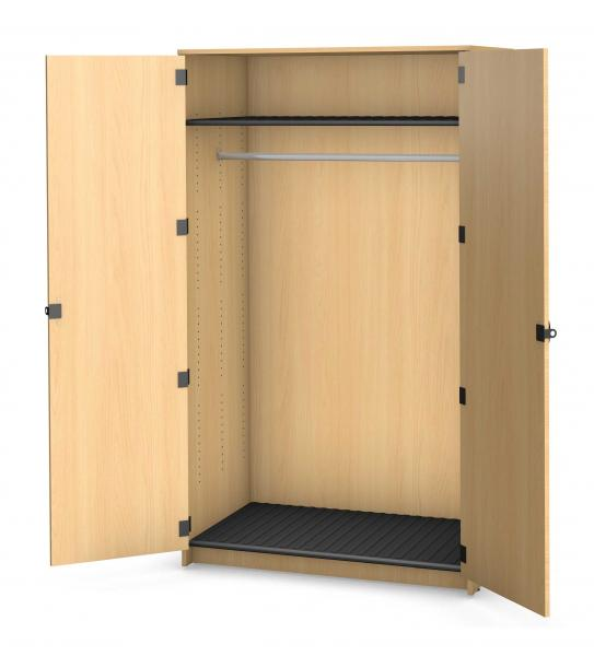 Harmony Garment Storage, 1 Rod - 1 Shelf Product Rendering