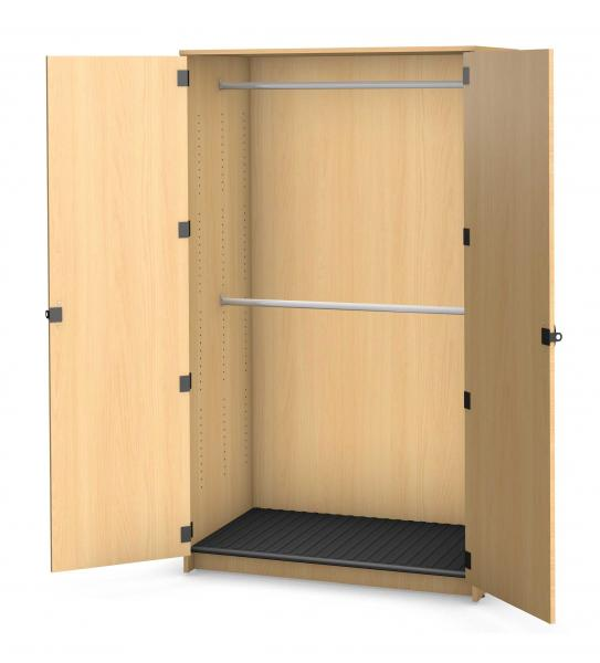 Harmony Garment Storage, 2 Rods - No Shelves Product Rendering