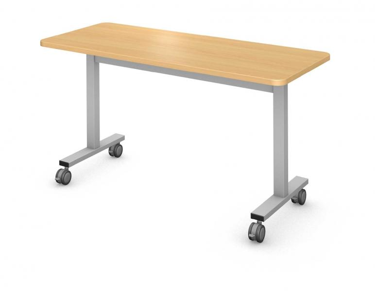 Plane Table, Steel Square I-Leg Product Rendering
