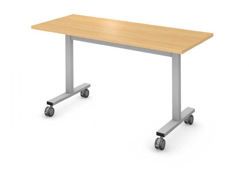 Rectangle I-Leg Table