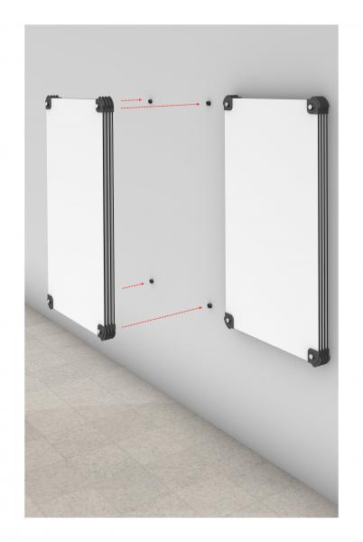 Pages™ Drywall Mount Kit with 4 panels