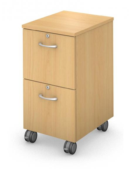 Mobile Ped - File/File - Locking Drawers Product Rendering