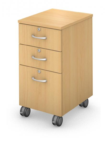 Mobile Ped - Box/Box/File - Locking Drawers Product Rendering