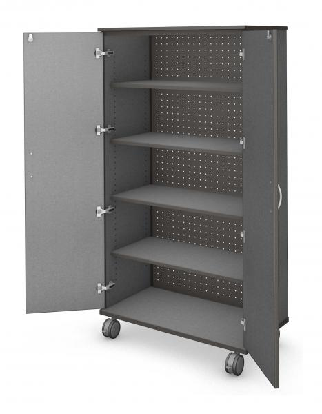 Tall Storage - Locking Doors Product Rendering