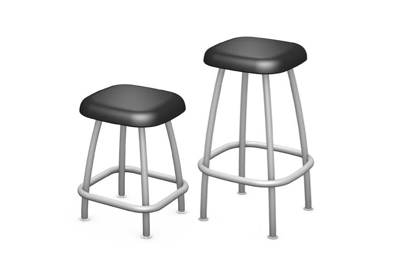 Rock Stool Renderings